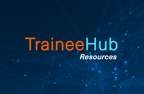 Title Graphic for TraineeHub Resources